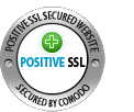 SSL Secured positivessl