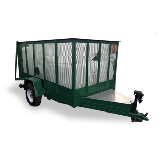 Vegetation Dump Trailer 10x5